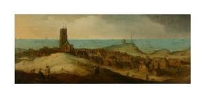 Gezicht op Egmond aan Zee