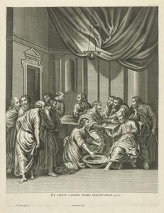 Christus wast de voeten van zijn leerlingen