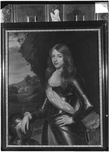 Portret van een man, waarschijnlijk Johan van Arnhem (1636-1716)