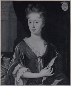 Portret van Anna Cornelia Isabella van Coeverden (....-1730)