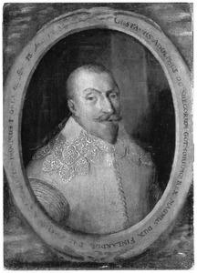 Portret van koning Gustaaf Adolf van Zweden (1594-1632)