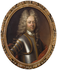 Portret van Floris Willem Borre van Amerongen (?-1718)