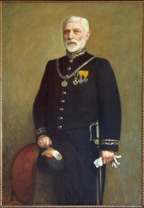 Portret van Petrus Christianus Hubertus Bauduin (1836-1910)