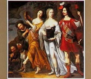 Meleager en Atalanta na de jacht