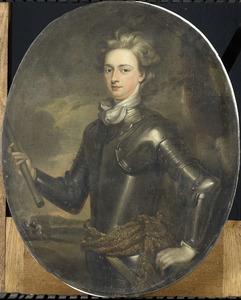 Portret van een officier in harnas