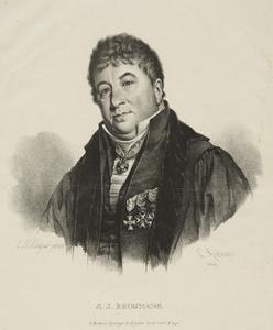 Portret van Sebald Justinus Brugmans (1763-1819)