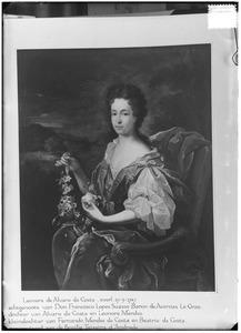 Portret van Leonor da Costa (1669-1749)