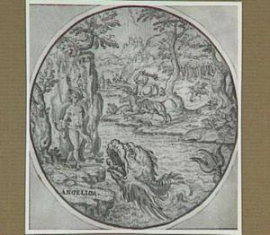 Ruggiero bevrijdt Angelica (Ariosto, Orlando Furioso 10:78-95)