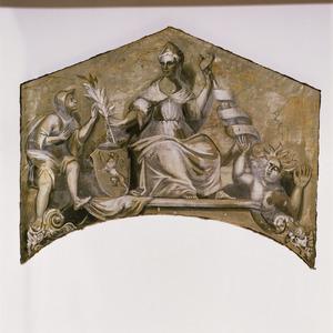 Allegorie op de Vrede en de Onrust
