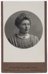 Portret van Saakje de Vries