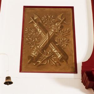 Symbolen van de Eendacht en de Vrede