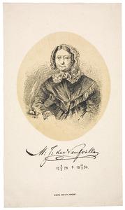 Portret van Margaretha Jacoba de Neufville (1775-1856)