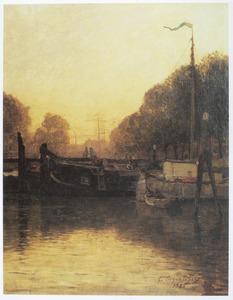 Gracht te Dordrecht