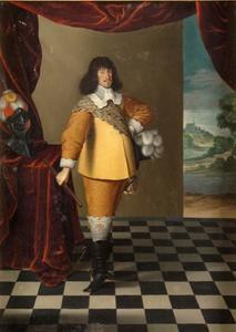 Portret van Frederik III (1609-1670), koning van Denemarken en Noorwegen