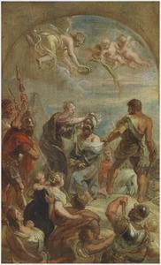 Het martelaarschap van de Heilige Paulus