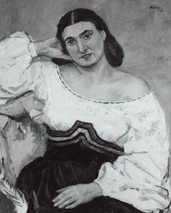 Portret van Eva Sinzheimer (1918-1969)