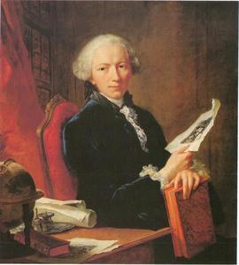 Portret van Gottfried II Winckler (1731-1795)