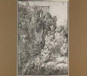 Tivoli, waterval in de Aniene