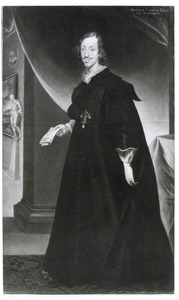 Portret van aartshertog Leopold Wilhelm van Habsburg (1614-1662), stadhouder der Spaanse Nederlanden, als geestelijke