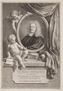 Portret van Sigebert Haverkamp (1684-1742)