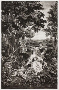Diana met haar jachtbuit