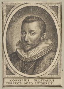 Portret van Cornelis Neostadius (1549-1606)