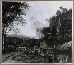 Landschap bij Sulmona bij Tivoli