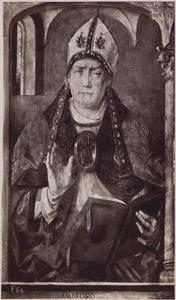 Portret van H. Ambrosius (ca. 340-397), kerkvader en bisschop van Milaan