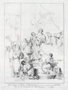 De opdracht in de tempel met Simeon en Anna