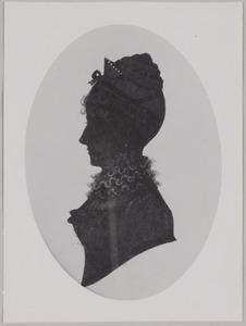 Portret van Theodora Cornelia Elsabe van Voorst (1782-1840)