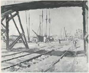 De Handelskade te Amsterdam