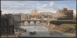 Rome, de Tiber met Castel Sant'Angelo