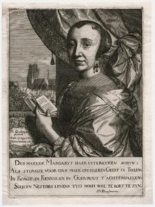 Portret van Margaretha van Godewijk (1627-1677)