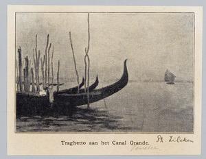 Traghetto aan het Canal Grande, Venetië