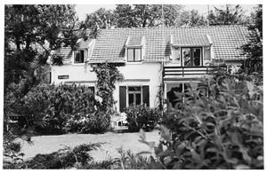 'De Groote Basselt' aan de Melkweg (nu Pastoor de Sayerweg 1) te Blaricum, waar Piet Mondriaan zijn atelier had in 1916