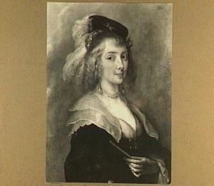 Portret van een vrouw, traditioneel Hélène Fourment genaamd