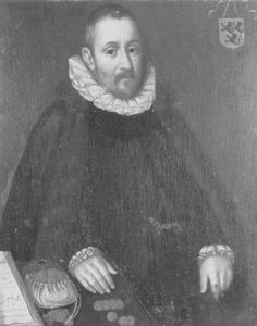 Portret van Johan Hallincq (1540-1605)