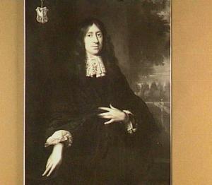 Portret van Salomon Dierkens (1641-1703)