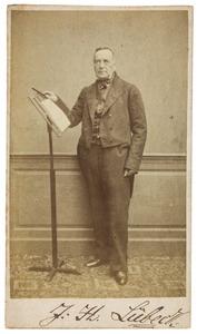 Portret van Johann Heinrich Lubeck (1799-1865)