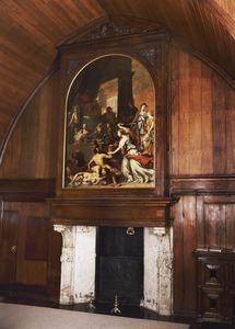 Justitiekamer met 17de-eeuwse schoorsteenboezem