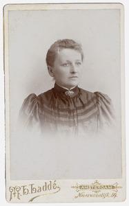 Portret van mevr. Catharina Theodora Elisabeth Wittpen (1860-1933)