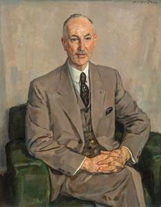 Portret van Gerrit Heijn (1895-1948)