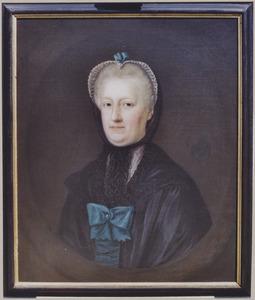 Portret van een vrouw, mogelijk Johanna Cornelia de Bas (1721-1787)