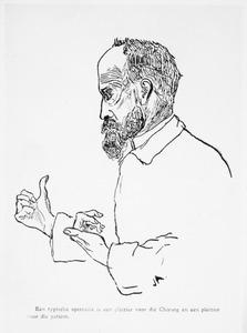 Portret van Otto Lanz (1865-1935)