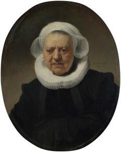 Portret van Aechje Claesdr .(?-1636)