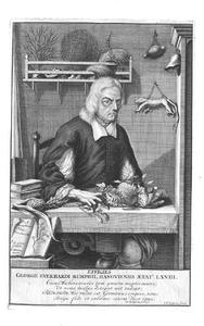 Portret van Georgius Everhardus Rumphius (1627-1702)
