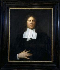 Portret van G .(Gerbrand) van Leeuwen (1643-1721)