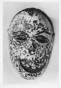 Ziektemasker in bezit van P. Ouborg
