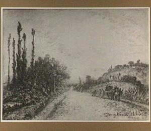 De grote weg bij La Côte Saint André, Le Dauphiné