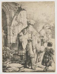 Abraham verstoot Hagar en Ismaël (Genesis 21:16-21)